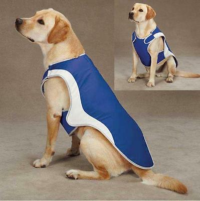 COOL PUP COAT Cooling Dog Jacket Vest w Ice Packs for Hot Weather Guardian Gear