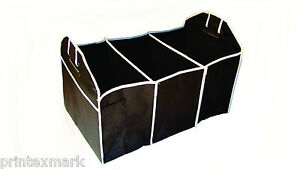 Car-Trunk-Organizer-Also-for-Trucks-SUVs-Vans-Etc-Folding-Collapsible-New