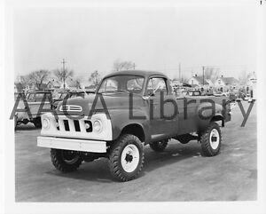 1960 studebaker champ fwd pickup truck factory photo ref 78443