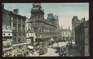 Lancs-LIVERPOOL-Church-Street-1904-PPC-Henry-Miles-Milliner