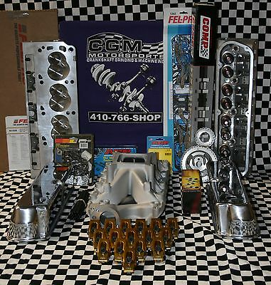 SBF 302 331 347 SB FORD ALUMINUM HEAD COMP CAM MAGNUM HYD FLAT TOP ENGINE KIT