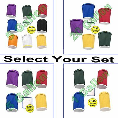 Mint Leaf Resin Bags - Bubble, Water & Ice - Select Your Bag Set - 1, 5 or 20
