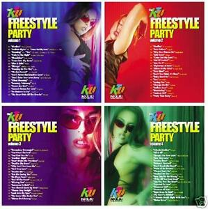 KTU-Freestyle-Party-4-CD-non-stop-dance-mix