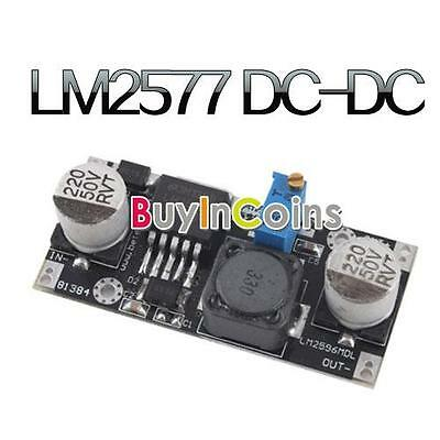 New DC-DC to DC Adjustable Converter Step-up Circuit Board Module LM2577 HFUS