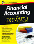 Financial Accounting For Dummies by Maire Loughran, Steven Collings (Paperback, 2013)