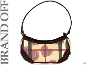 Brand-New-BURBERRY-SUPERNOVA-BERRY-RED-COATED-CANVAS-PAINWICK-SHOULDER-PURSE-BAG