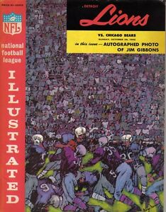 Oct-28-1962-Detroit-Lions-vs-Chicago-Bears-Program-MINT-Alex-Karras-Safety