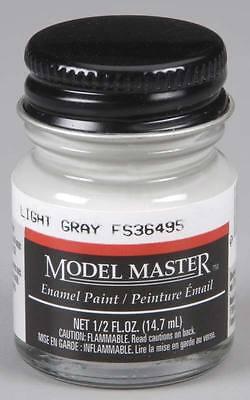 Testors Model Master 1732 Light Gray 1/2 oz model paint NEW
