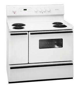 NEW-Frigidaire-White-40-034-Freestanding-40-Inch-Electric-Range-FFEF4015LW