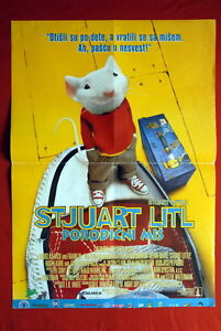 STUART-LITTLE-MICHAEL-J-FOX-1999-RARE-SERBIAN-MOVIE-POSTER