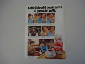 advertising Pubblicità 1981 CAFFE' SPLENDID