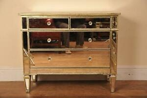 image is loading mirrored chest drawers glass mirror deco borghese furniture borghese mirrored furniture