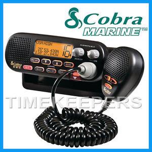 COBRA-MR-F55-Fixed-VHF-Marine-EU-Version-LCD-Radio-for-Boat-Vessel-Yacht-Black