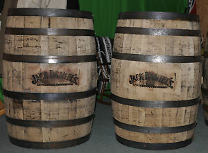 Jack-Daniels-Whiskey-Barrels-with-JD-Branded-Logos-WHITE-OAK