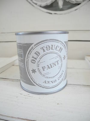 250ml OLD TOUCH PAINT Farbe Möbel shabby chic whitewash Patina weiß Möbelfarbe
