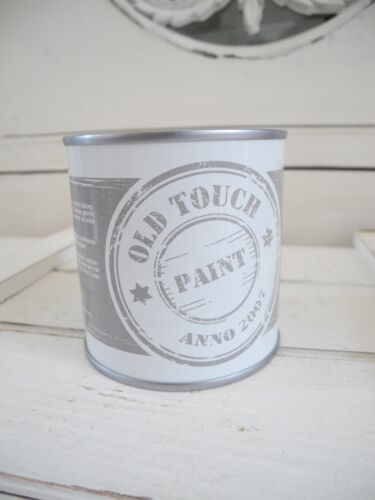 250ml OLD TOUCH PAINT Farbe Möbel shabby chic whitewash Patina weiß Möbelfarbe
