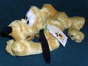 10-stuffed-Walt-DISNEY-World-beanbag-plush-PLUTO-w-Tag