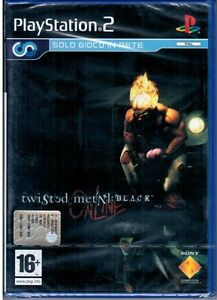 TWISTED-METAL-BLACK-ONLINE-Gioco-PS2-PLAYSTATION-2-NUOVO-SIGILLATO