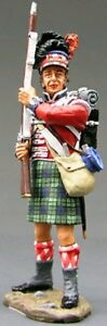 KING & COUNTRY THE AGE OF NAPOLEON NA049 42ND HIGHLANDER STANDING READY MIB