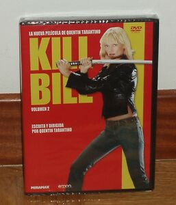 KILL-BILL-VOLUMEN-2-DVD-NUEVO-NEW-SEALED-ACCION-QUENTIN-TARANTINO-SIN-ABRIR