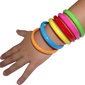 6-x-Toddler-Kids-Girls-Bangle-Cuff-Bracelet-Wristband-Fashion-Costume-Jewellery