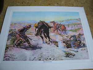 CM-Charles-Marion-Russell-The-Cinch-Ring-Reproduction-Print