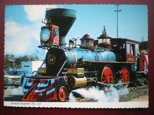 POSTCARD RP RAIL GENOA  JUPITER NO 12 LOCO CALIFORNIA MUSEUM - Tadley, United Kingdom - Full Refund less postage if not 100% satified Most purchases from business sellers are protected by the Consumer Contract Regulations 2013 which give you the right to cancel the purchase within 14 days after the day you receive th - Tadley, United Kingdom