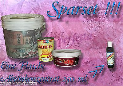 Stucco Veneziano 10Kg Sparset Marmorspachtel Hochglanz auf Wasserbasis, Adicolor