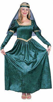 RENAISSANCE PRINCESS LADY WOMAN COSTUME MEDIEVAL FAIRE JULIET ADULT COSTUMES