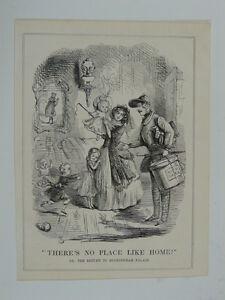 PUNCH-cartoon-1845-there-s-no-place-like-like-home-buckingham-palace