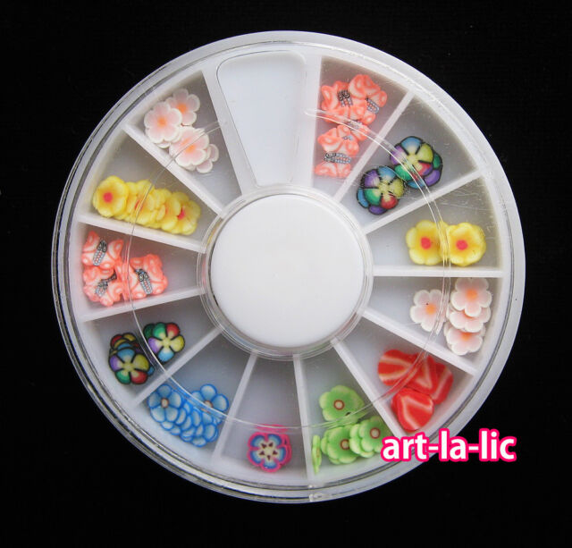 New Nail Art Rhinestones Glitters Acrylic Tips Decoration Manicure Wheel
