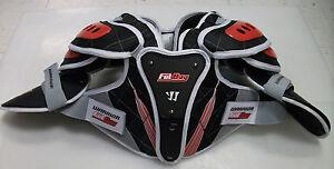 New Warrior box lacrosse shoulder pads Fat Boy sz. XL Hitman chest extra large