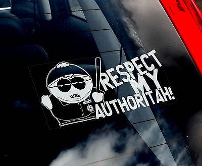 Cartman'Cop'- South Park Car Sticker - Series 12,13,14