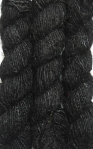 500g-Himalaya-Recycled-PURE-SOFT-Banana-Silk-Yarn-Black