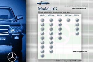 Mercedes-Benz-107-Service-Repair-Manual-380SL-380SLC-450SL-450SLC-560SL-Cars-CD