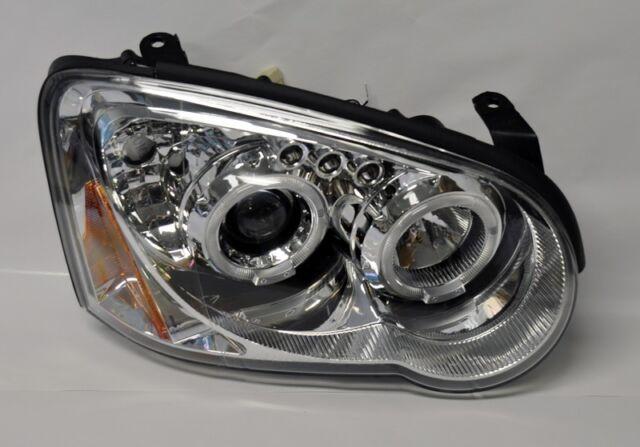 Subaru WRX 04-05 Clear Projector Halo Angel Eye Headlights