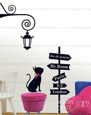 Cross road Home room Decor Removable Wall Sticker/Decal/Decoration
