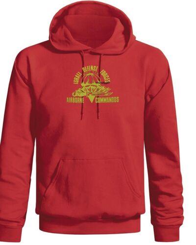 Israel Airborne Commando Sweatshirt Israeli Army  IDF Zahal Hoodie  SZ S-3XL