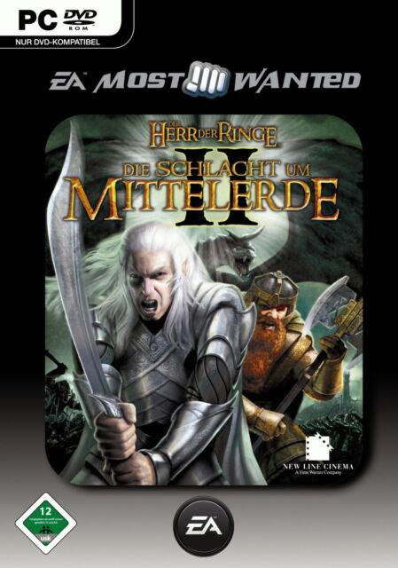 EA Most Wanted Der Herr der Ringe: Die Schlacht um Mittelerde II (PC, DVD-Box)