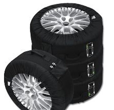 "Set Of Four NEW Premium Wheel & Tyre Storage Bags Fits 14-18"" Wheels Universal"