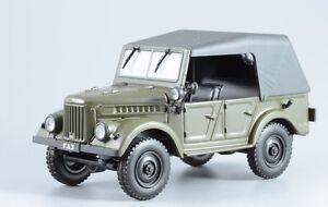 1-43-Russian-GAZ-69A-amp-mag-55-cars-USSR