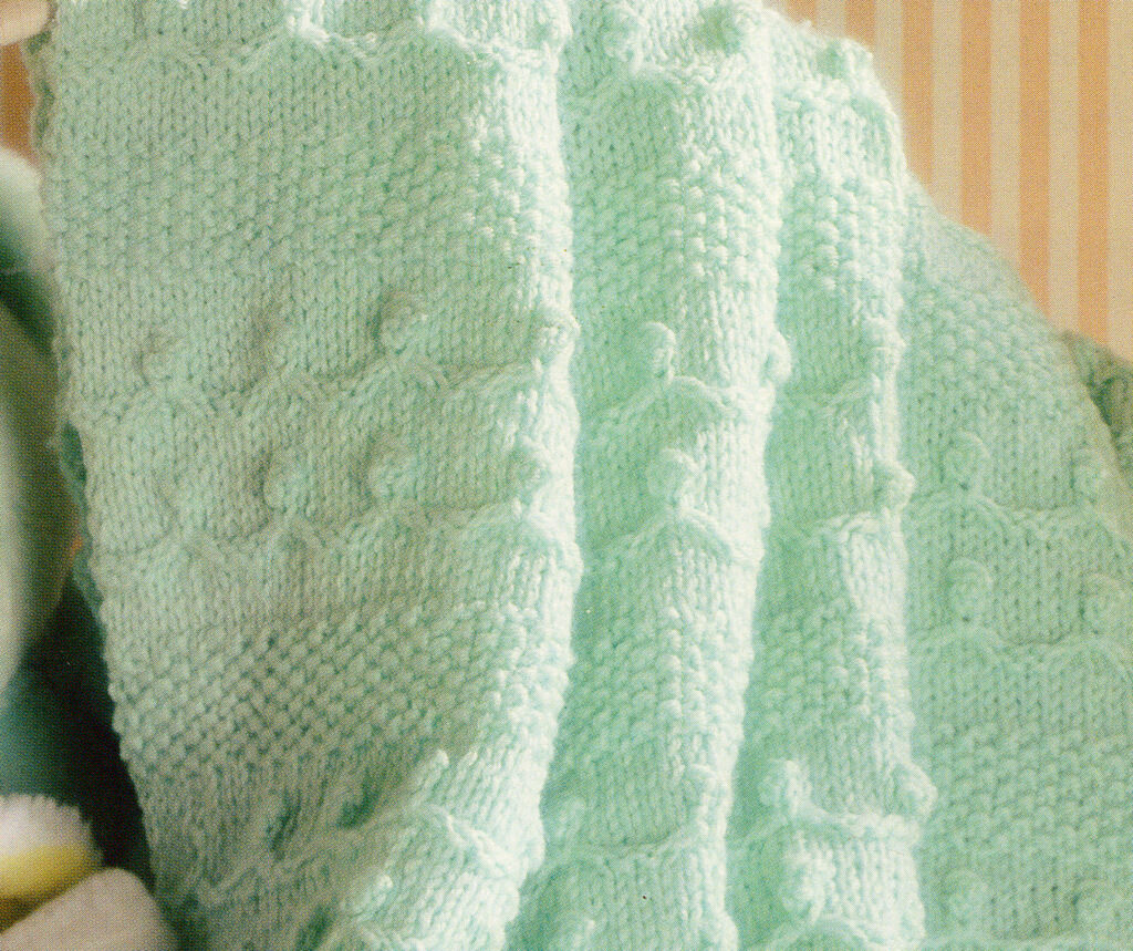 Quot Holding Hands Quot Textured Baby Blanket Knitting Pattern 33