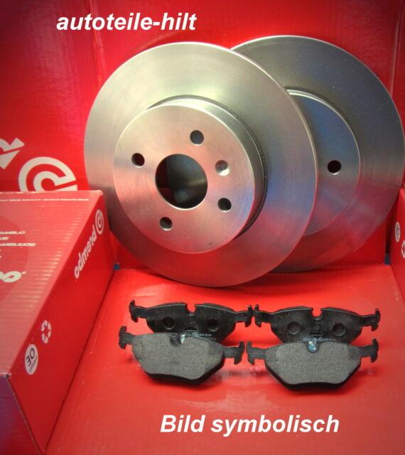 Bremsensatz 2 Brembo Bremsscheiben + Beläge Vorderachse Toyota Auris