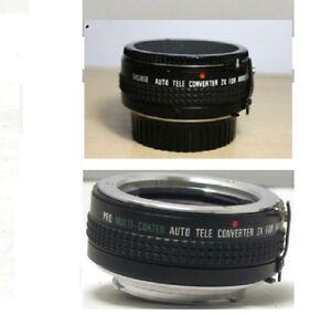 Minolta-MC-MD-Mount-2X-Converter-Minolta-X370-X570-X700-STR-XG1-XG7-XG9-XGM-XD