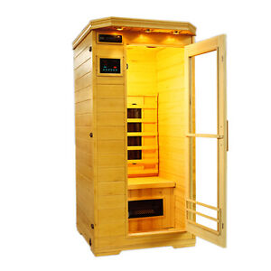 infrarot w rmekabine ir sauna irma2 90x90x190 sofort ab lager lieferbar ebay. Black Bedroom Furniture Sets. Home Design Ideas