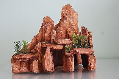 Aquarium or Vivarium Large Arizona Rock Ornament 24 cms Suitable For All Tanks