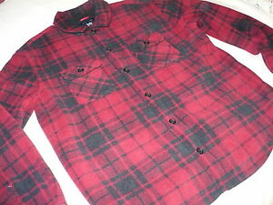 159-NEW-NWT-TOMMY-HILFIGER-MENS-BUTTON-UP-LINED-FLEECE-JACKET-COAT-SIZE-S-L-TH