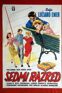 TERZA-LICEO-ITALIAN-ANNA-MARIA-SANDRI-1954-ROBERTA-PRIMAVERA-EXYU-MOVIE-POSTER