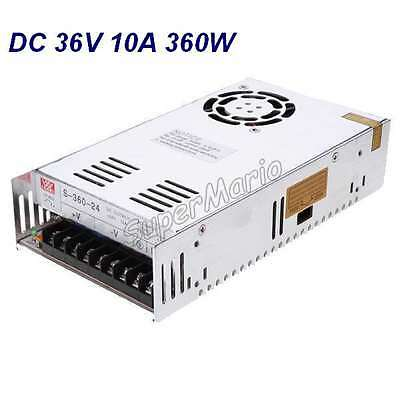 MW High Quality 36V 10A 360W DC Regulated Switching Power Supply CNC