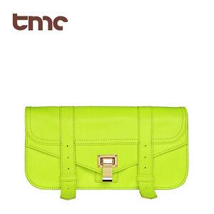 New-TMC-Charming-Neon-Yellow-Clutch-Bags-Messenger-Leisure-Bag-OL-Purse-YL188